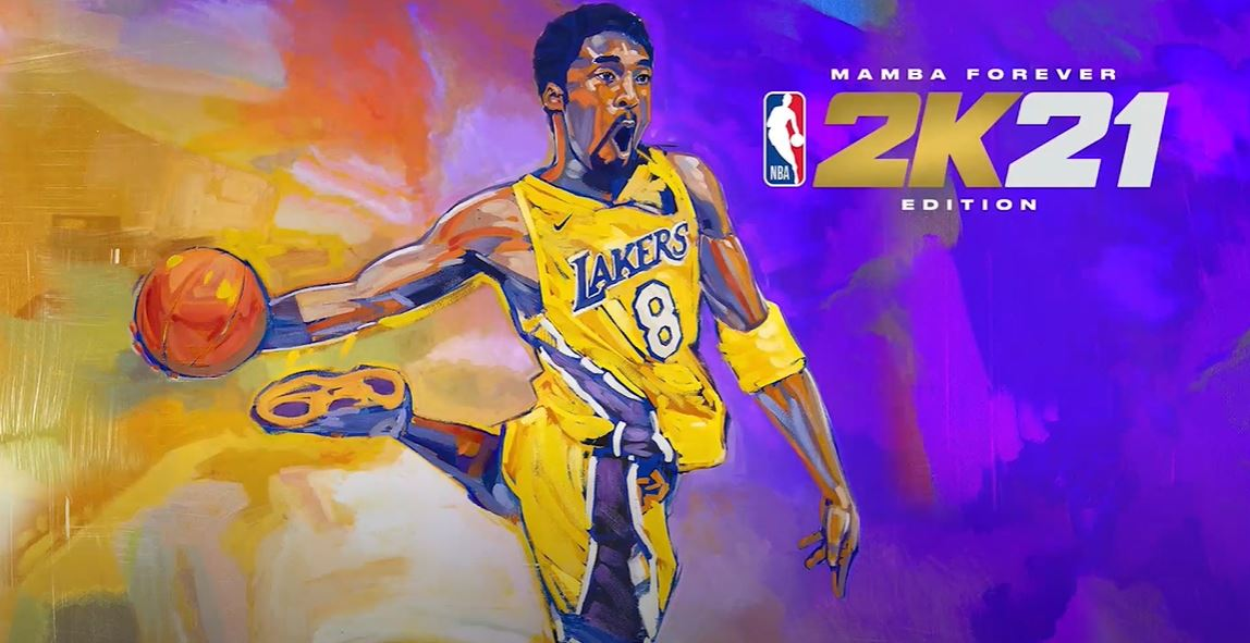 "NBA 2K21 ""Mamba Edition"" cover"