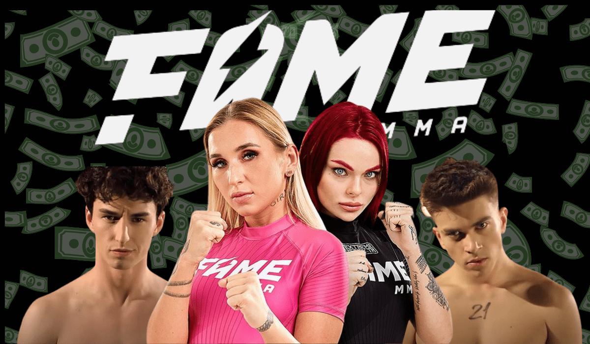 FAME MMA- pieniądze i sława